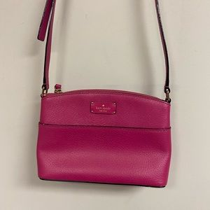 Hot Pink Kate Spade Millie grove street crossbody